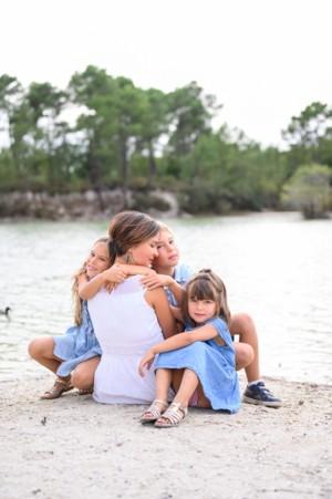 Maud & ses 3 enfants